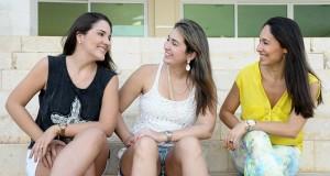 Natália Marques, Marcella Camurça e Larissa Coelho2